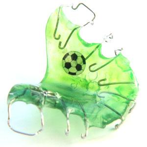 zahnspange fussball