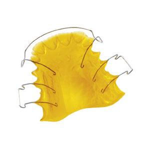 zahnspange gelb